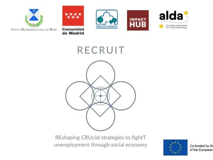 RECRUIT: lucha contra el desempleo a través de la Economía Social